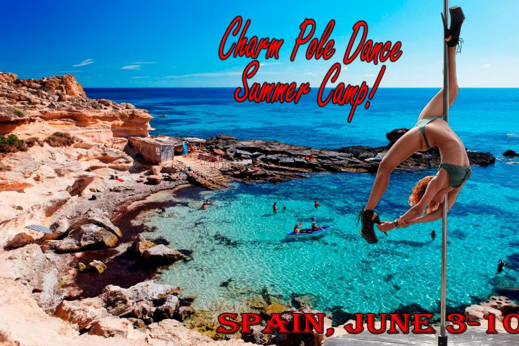 Spain Pole dance camp!